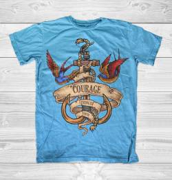 nautical spirit sea sailor life ocean tshirt