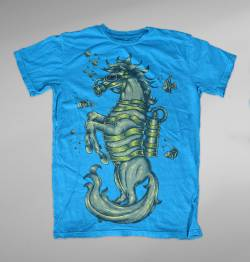 sea horse beautiful creature t shirt