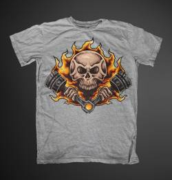 speed piston engine demon shirt