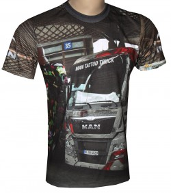camiseta motorsport man truck tattoo