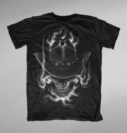 ghost rider wild west justice texas shirt