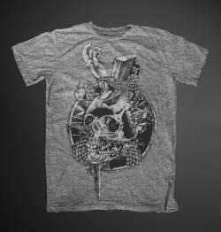 original sin adam eve black white tshirt
