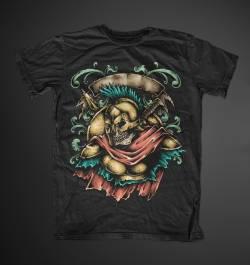 spartan warrior 300 Sparta art tshirt