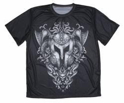 viking armor art battle design tshirt1