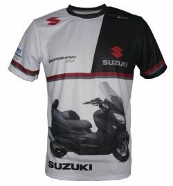 Suzuki 650 Burgman 2017 2016 scooter tee