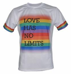 pride love has no limits gay lesbian t shirt
