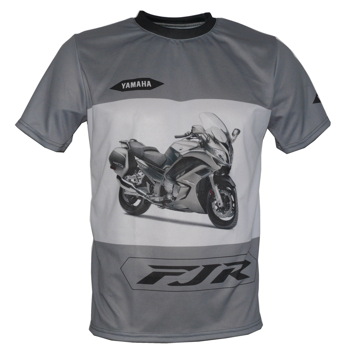 yamaha fjr 1300 t shirt with logo and all over printed. Black Bedroom Furniture Sets. Home Design Ideas