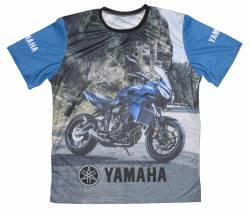 yamaha tracer 700 blu 2017 2018 maglietta