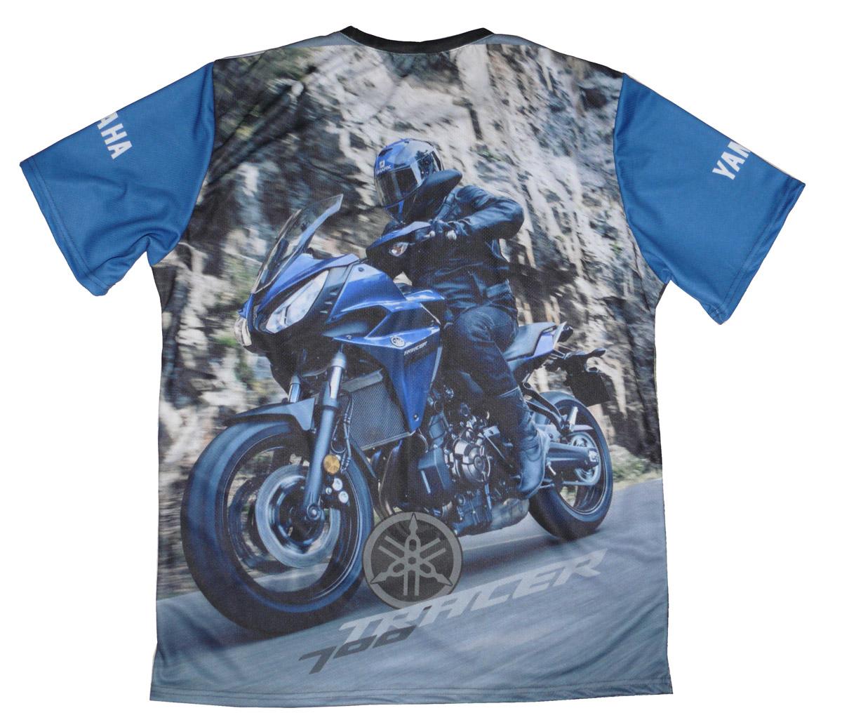 yamaha tracer 700 azul 2018 camiseta