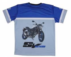 suzuki sv 650 2017 2018 abs camiseta
