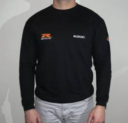Suzuki GSX R 600 750 1000 long sleeve crew neck.JPG
