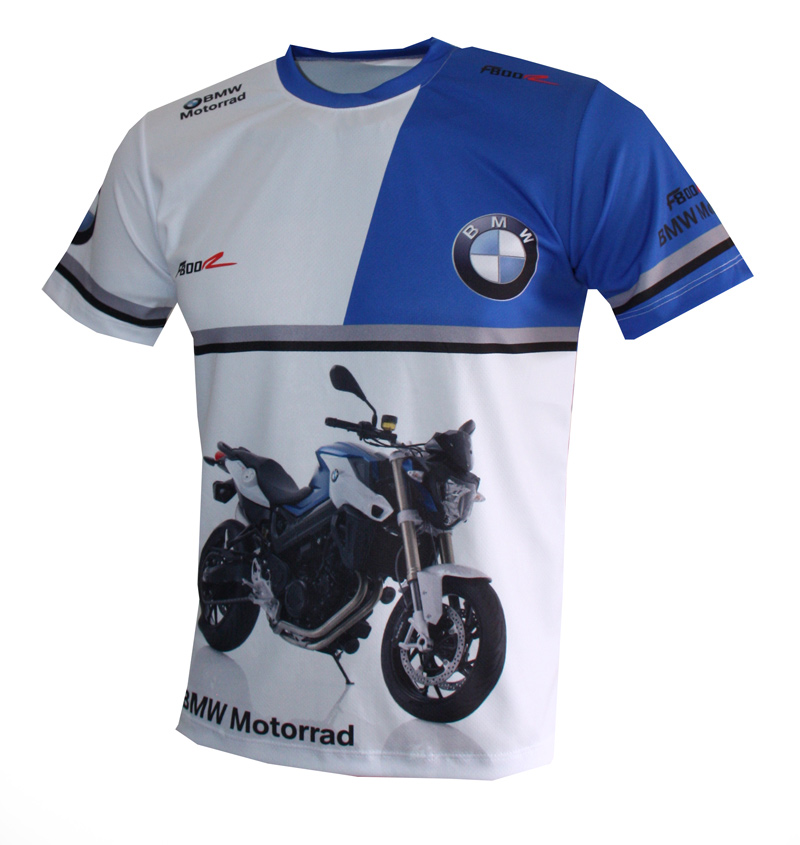 d4e4787f BMW F800R t-shirt with logo and all-over printed picture - T-shirts with all  kind of auto, moto, cartoons and music themes