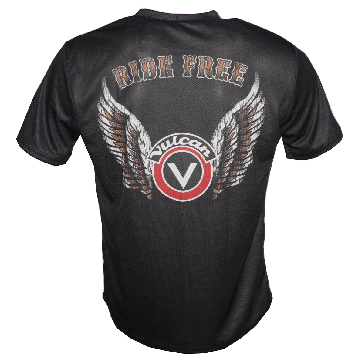 Kawasaki Vulcan 1700 T Shirt With Logo And All Over Printed Picture