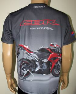 honda cbr 600 rr hrc 2010 camiseta motorsport racing