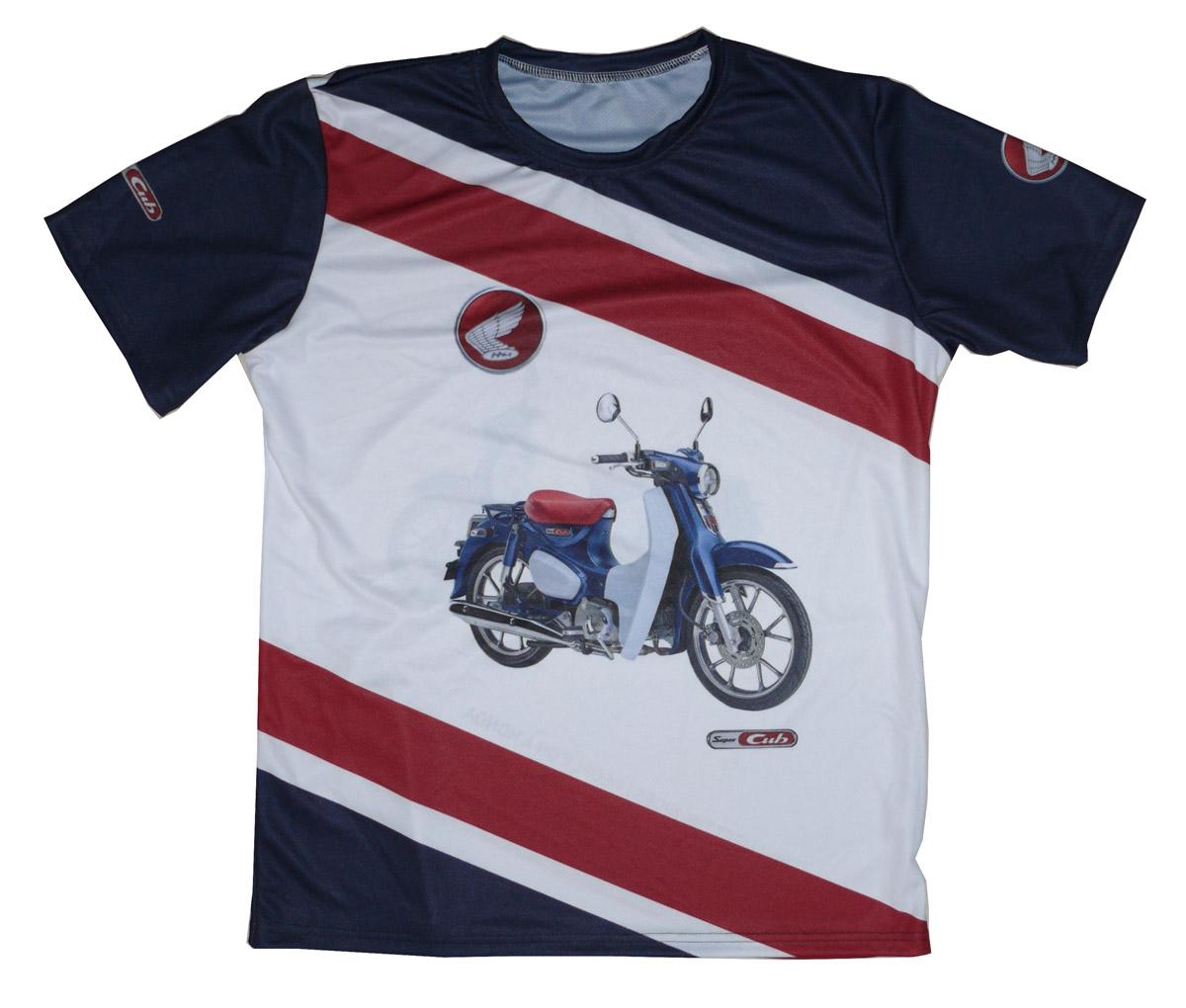 Honda c125 Super Cub 2018 2019 historia scooter camiseta