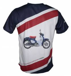 Honda c125 Super Cub scooter 2018 2019 history shirt