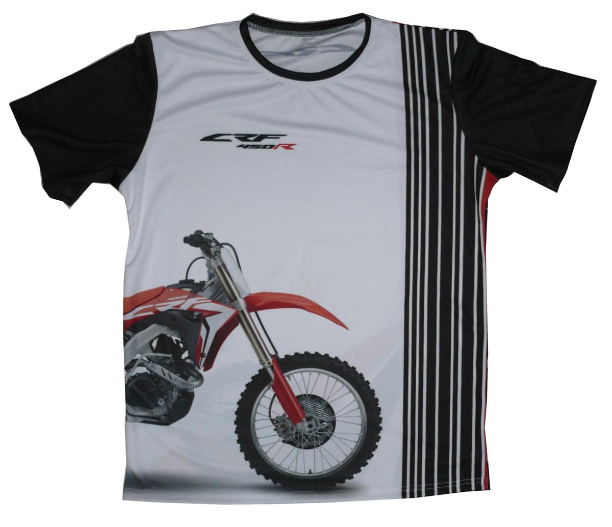Honda CRF 450R 2019 cross bike bike maglietta