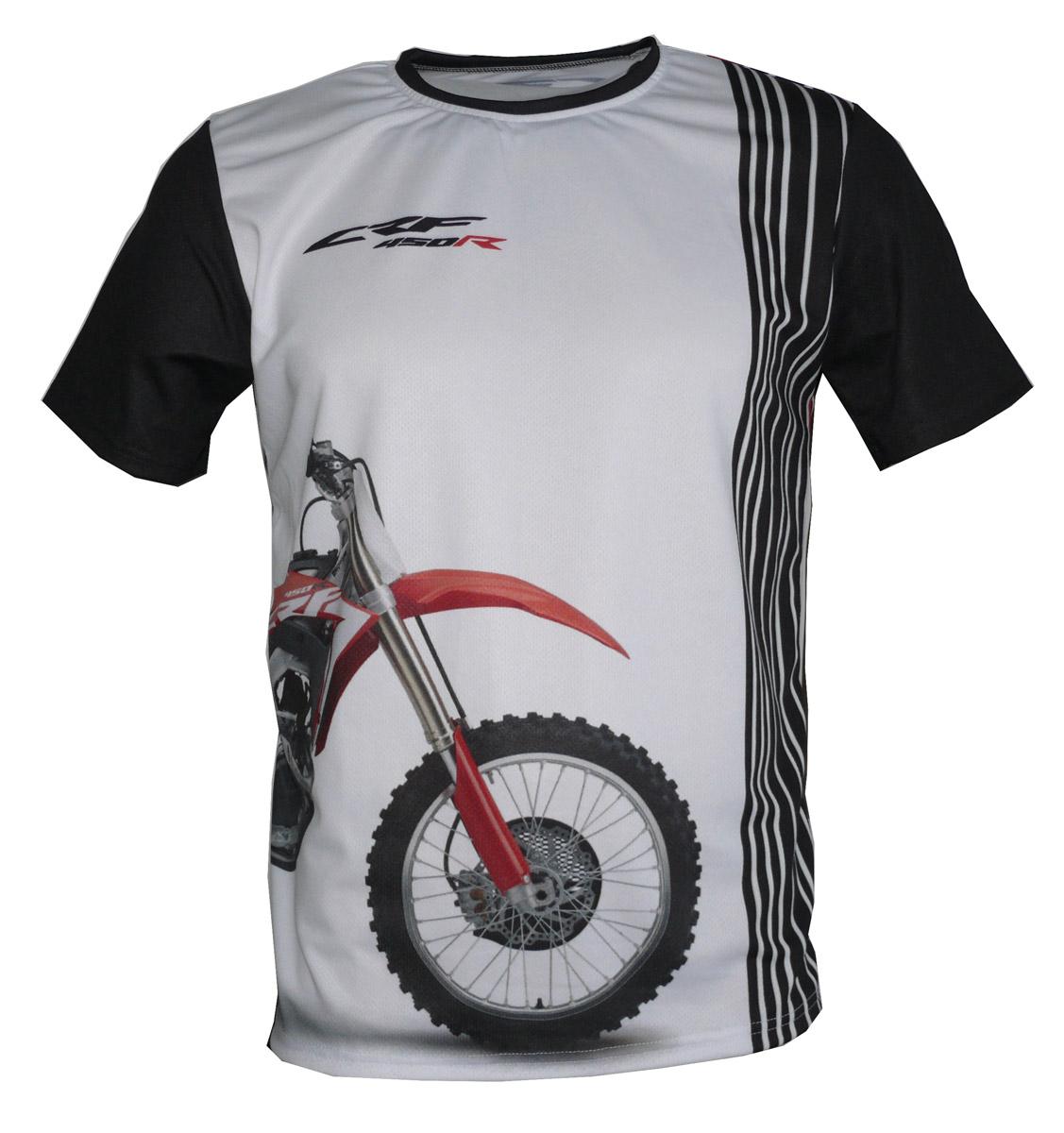 Honda crf 450r 2019 cross bike bike tshirt