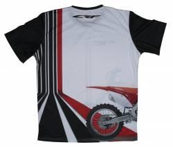 Honda crf450r 2019 cross bike bike shirt