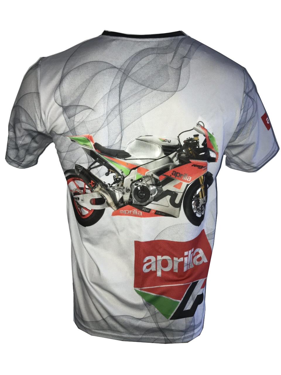aprilia dorsoduro shiver rsv4 1100 motorsport racing t shirt