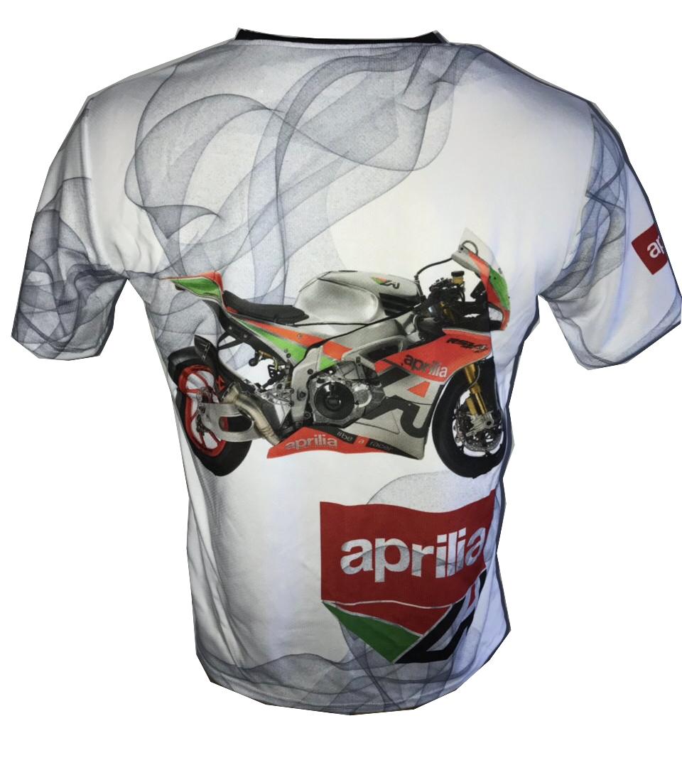 aprilia rsv4 1100 rf w dorsoduro shiver motorsport racing shirt