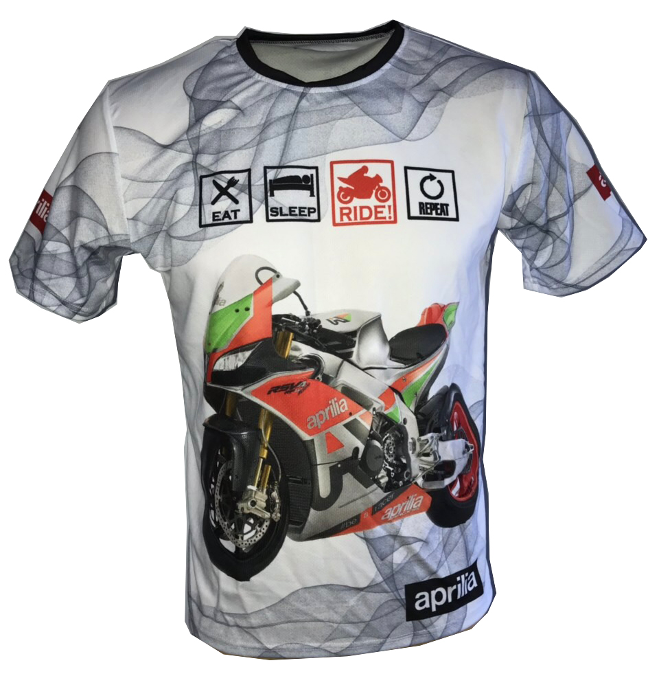 aprilia rsv4 1100 rf w dorsoduro shiver motorsport racing tee