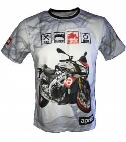 aprilia dorsoduro moto tuono v4 motorsport racing shirt