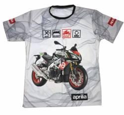 aprilia dorsoduro moto tuono v4 motorsport racing tee