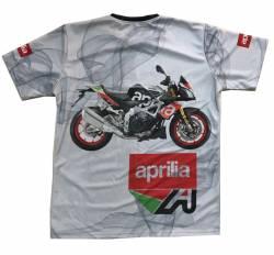aprilia dorsoduro moto tuono v4 motorsport racing tshirt