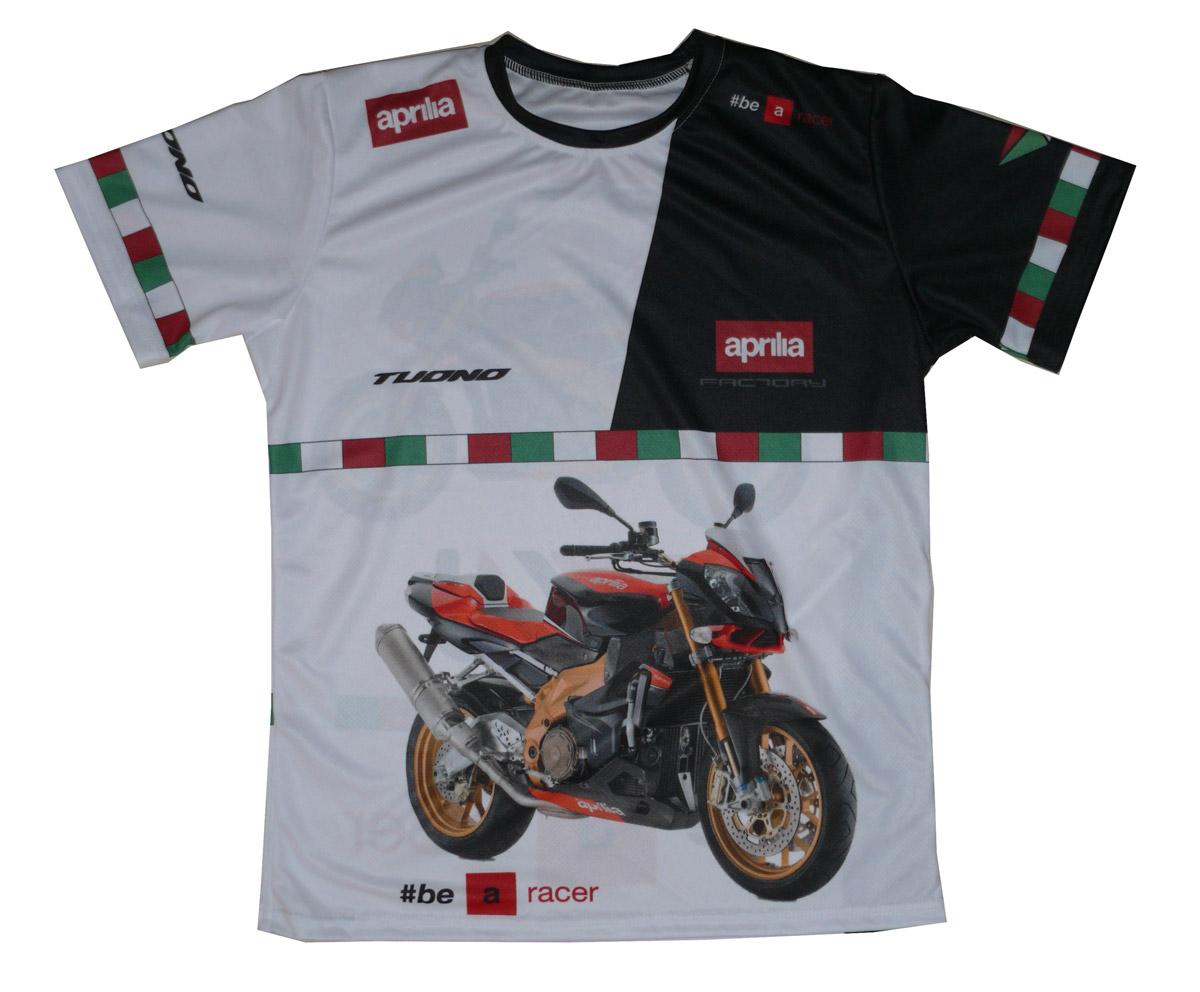 Aprilia tuono 1000r 2010 factory tshirt