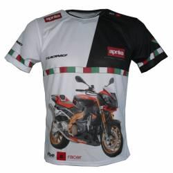 Aprilia tuono 1000r 2010 factory maglietta