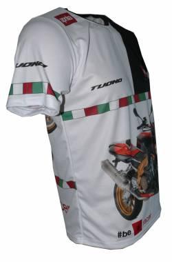 Aprilia tuono 1000r 2010 factory camiseta