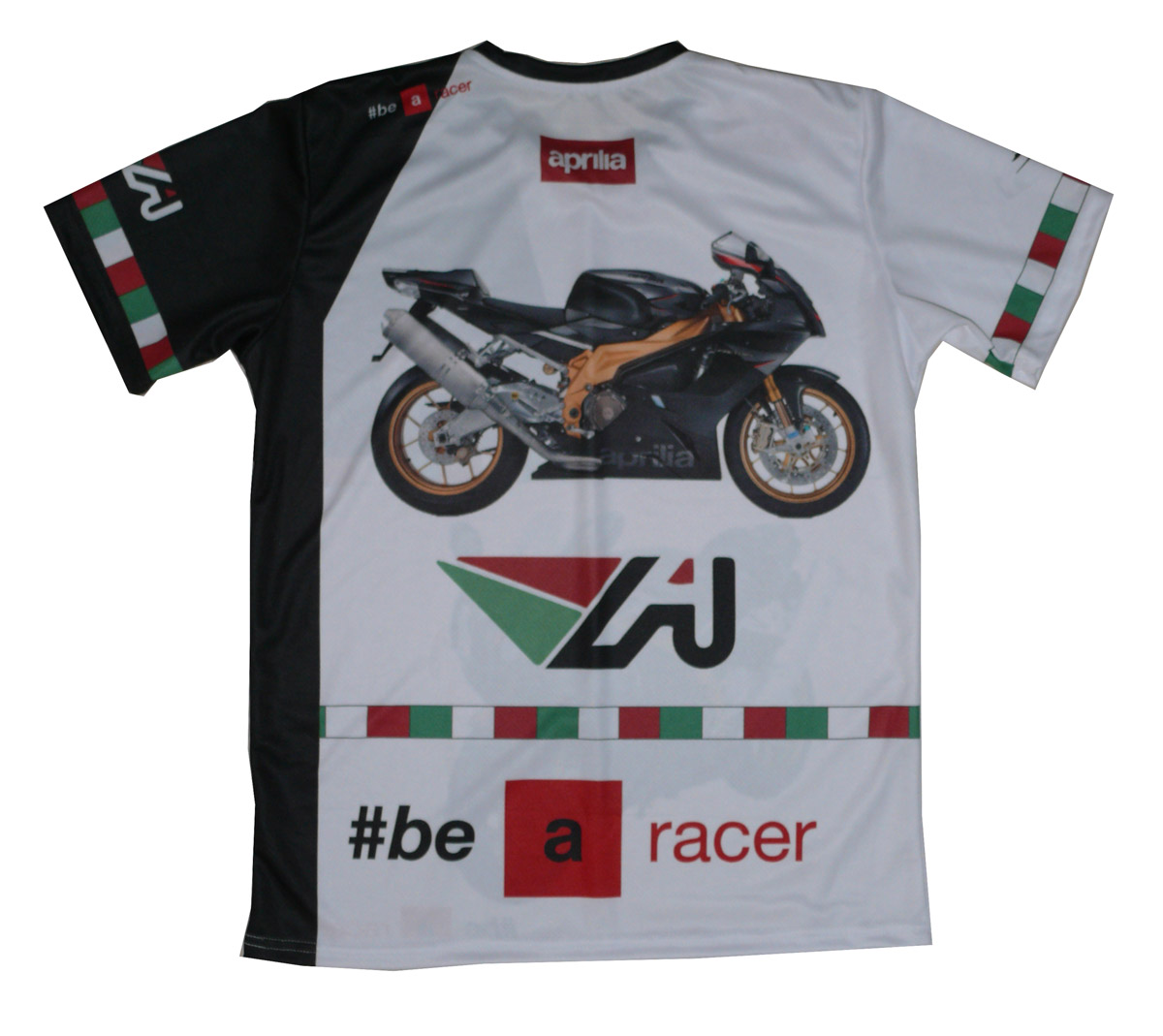 Aprilia rsv 1000r factory 2007 mille rs50 t-shirt