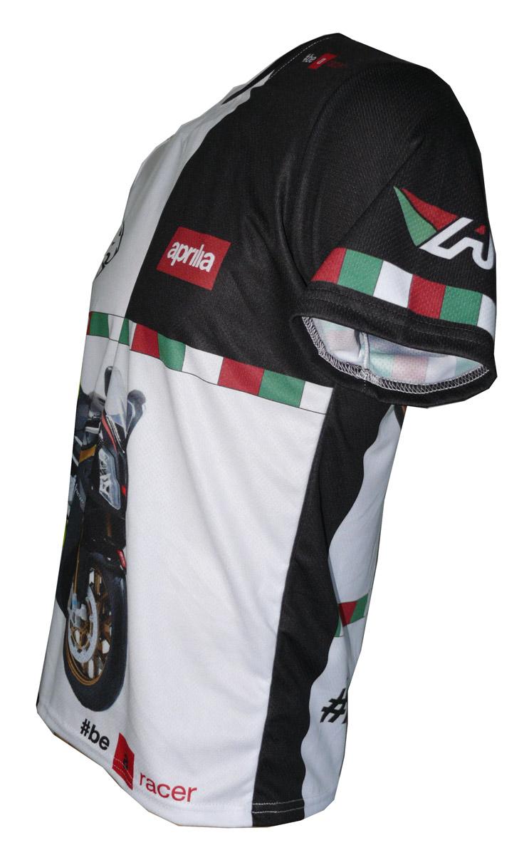Aprilia rsv 1000r factory 2008 mille rs50 tshirt