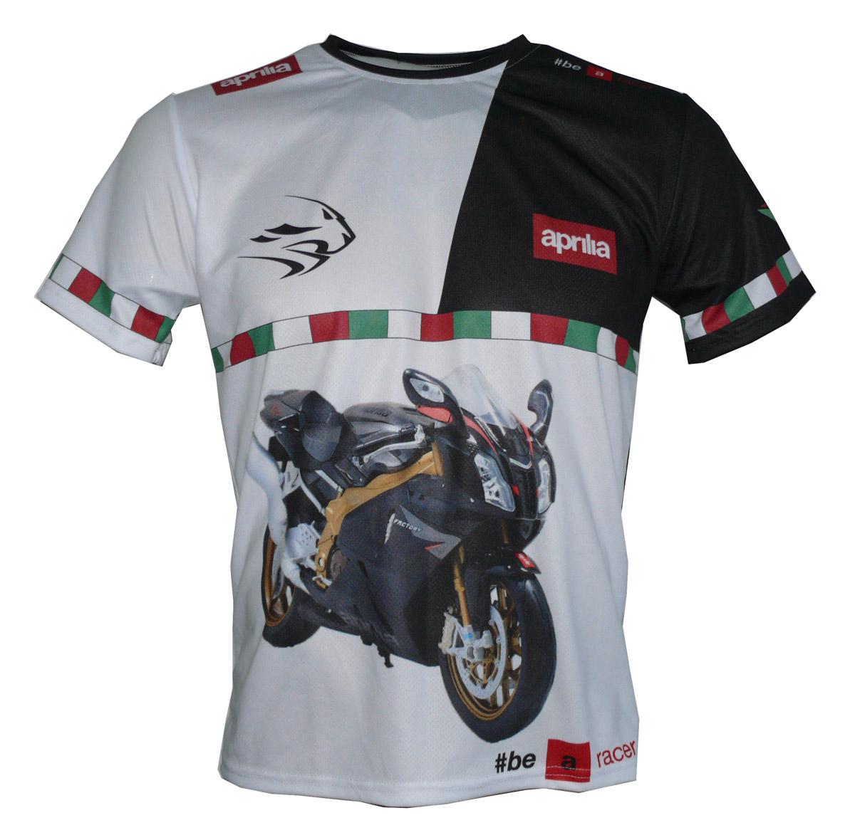 Aprilia rsv 1000r factory 2009 mille rs50 maglietta