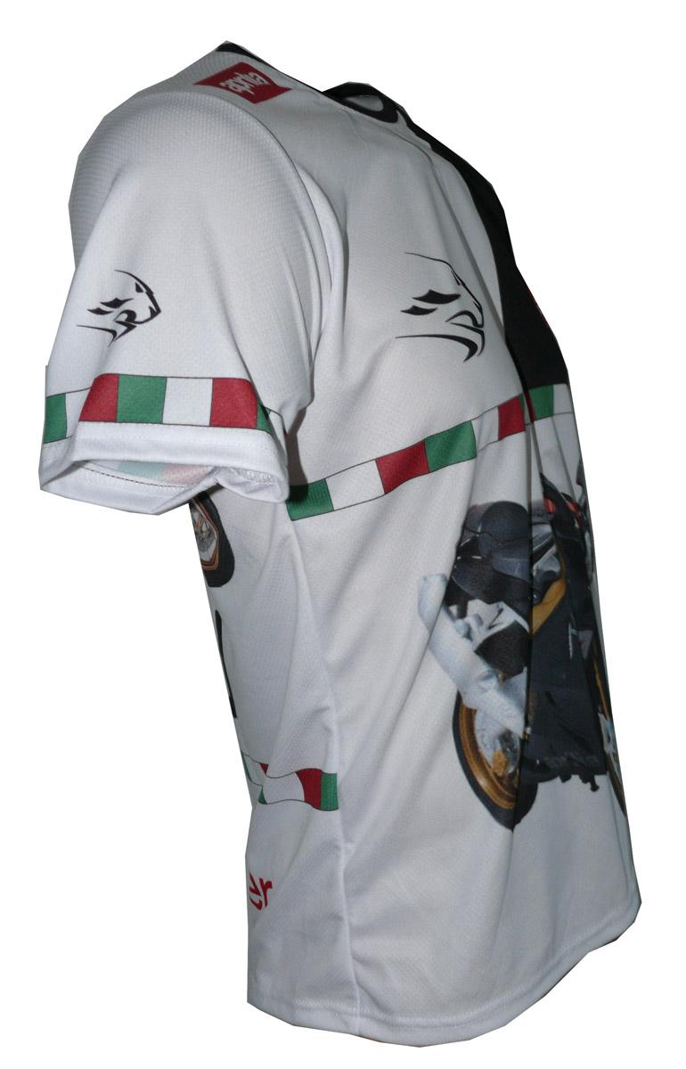 Aprilia rsv 1000r factory 2008 mille rs50 camiseta