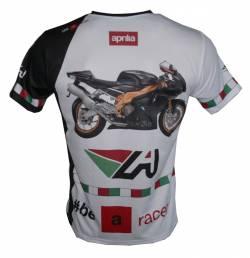 Aprilia rsv 1000r factory 2009 mille rs50 shirt