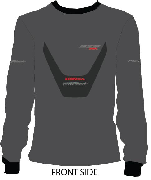 Honda cbr 929rr sweathirt Fireblade crew neck long sleeves