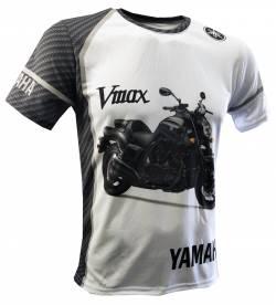 Yamaha VMax V Max Model Sketch Graphic Motorcycle Koolart Cartoon Art T Shirt