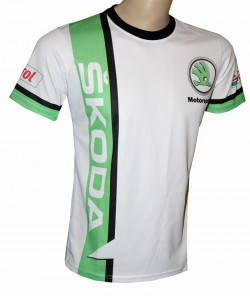 tshirt motorsport racing skoda