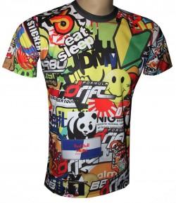 shirt motorsport racing drift funny colors