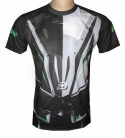 kawasaki ninja h2r camiseta moto motorsport racing