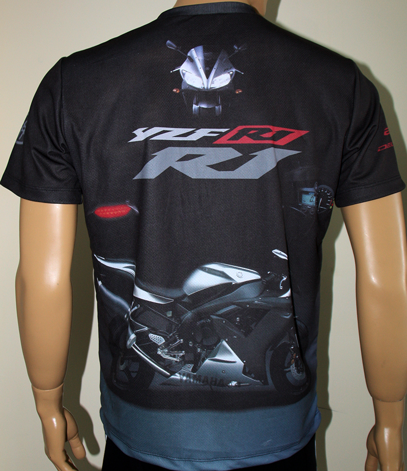 yamaha r1 2002 t shirt with logo and all over printed picture t shirts with all kind of auto. Black Bedroom Furniture Sets. Home Design Ideas