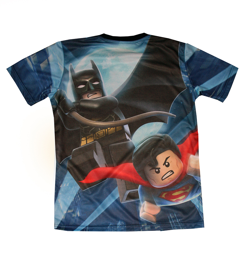 Lego movie t-shirt with logo and all-over printed picture - T-shirts ...