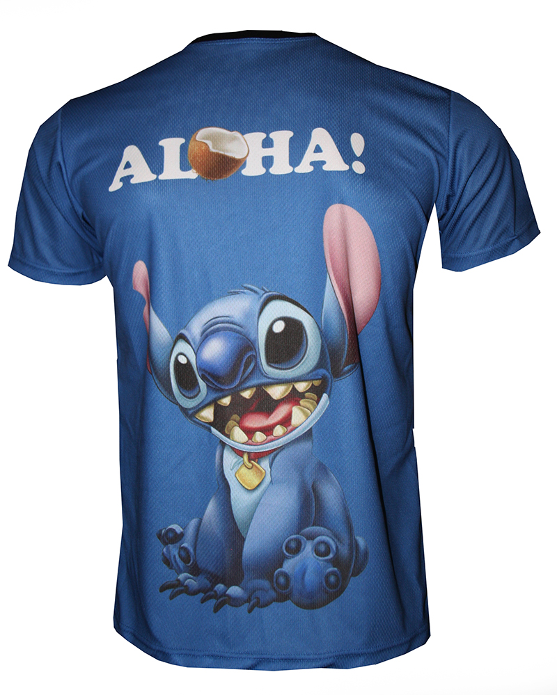 73743e87cfc Lilo and Stich t-shirt with logo and all-over printed picture - T ...