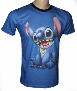 lilo stitch aloha tshirt cartoon