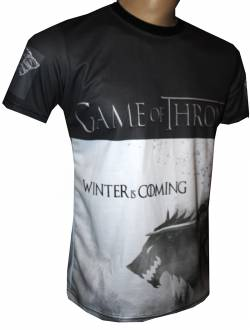 game of thrones winter is coming tshirt movies series