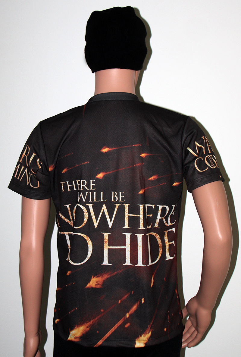 game of thrones war is coming tshirt movies series