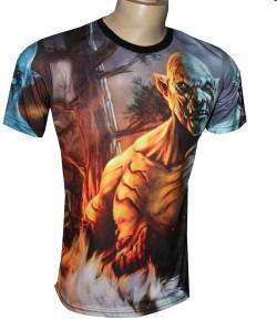 el hobbit azog camiseta cine serie