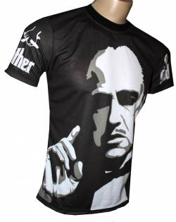 el padrino mafia camiseta cine serie